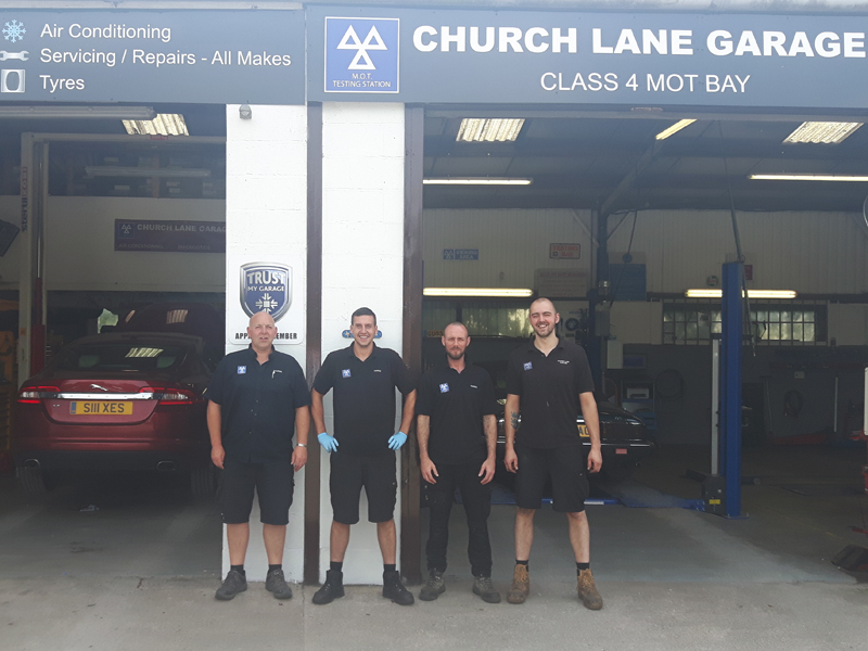 church lane garage Cheshire